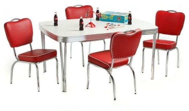 5 Piece Deja Vu Retro Dinette Set