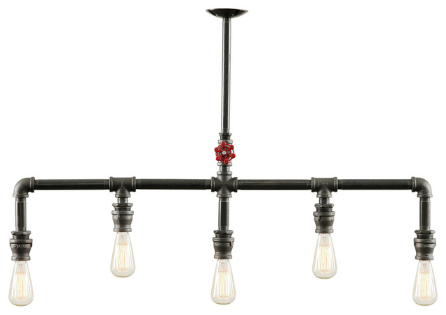 Cool Industrial Chandeliers by West Ninth Vintage