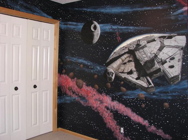 Star Wars Wall Murals star wars wall murals - home design ideas