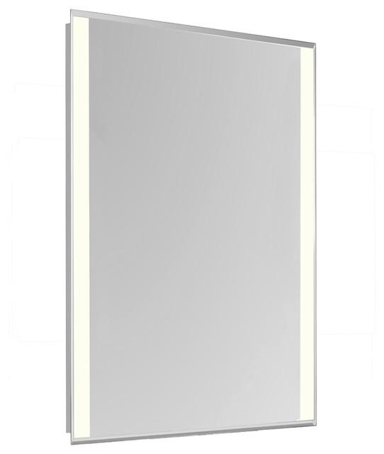 Bathroom Light Electrical Box For Home Design Elegant: Elegant Lighting 4 Side LED Edge Electric Mirror Rectangle