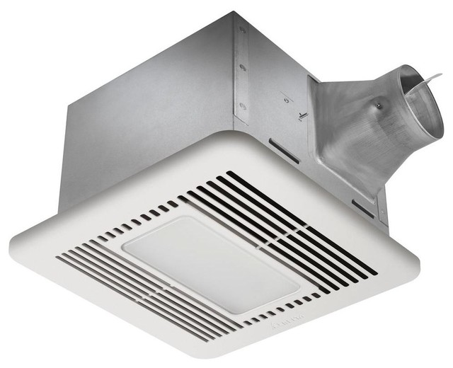 Bathroom Exhaust Fan With Led Light: Delta Breez Signature 110 CFM Fan with LED Light Combo, SIG110LED  traditional-bathroom-,Lighting