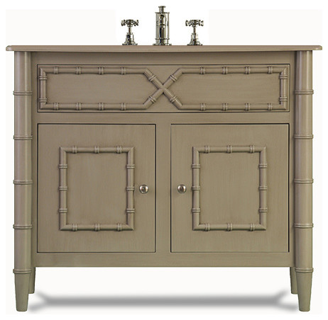 Bristol Sink Base Asian Bathroom Vanities And Consoles By J Tribble
