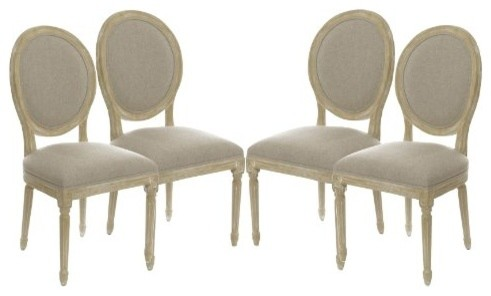 Shop HouzzThe Gallery VintageStyle French Dining Chairs Set