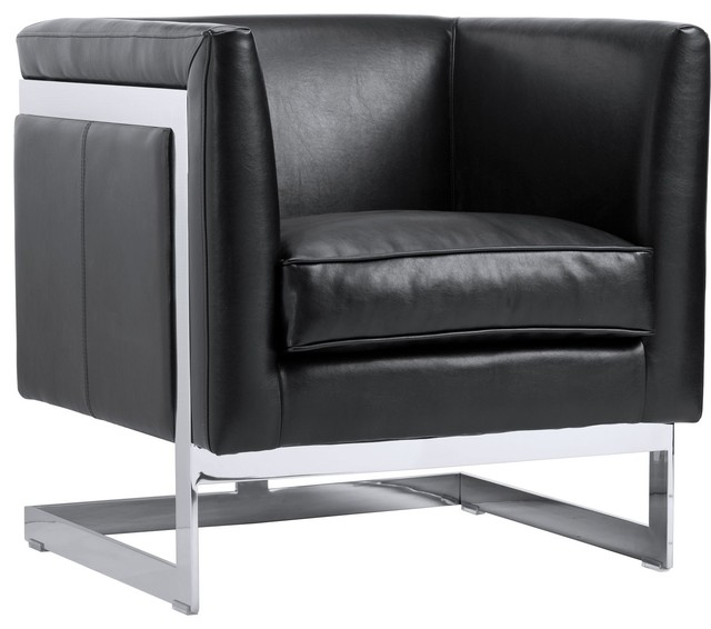 Ada Bonded Leather Armchair   Contemporary   Armchairs And Accent Chairs    By Unlimited Furniture Group