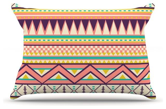 Southwestern Standard Pillow Shams : Louise Machado