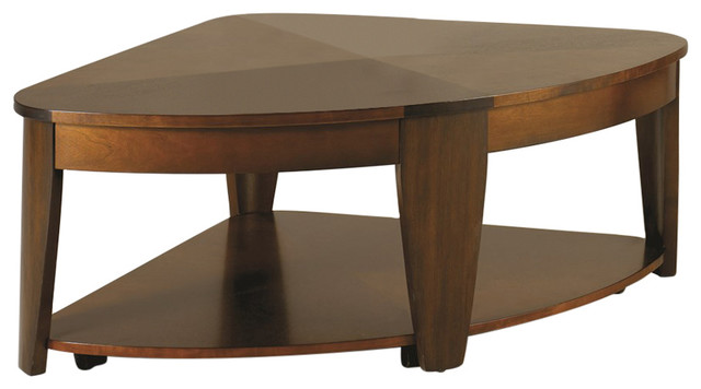 Oasis Wedge Lift Top Coffee Table Transitional Coffee