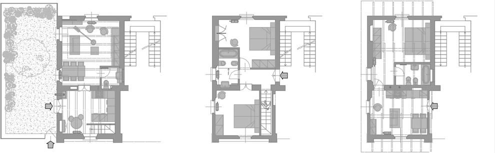 Cascina Lucchese_Planimetria di progetto