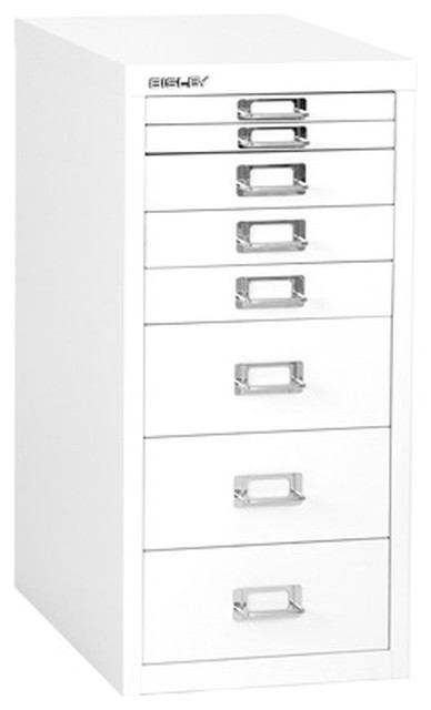 Empire Office Solutions Bisley 8 Drawer Steel