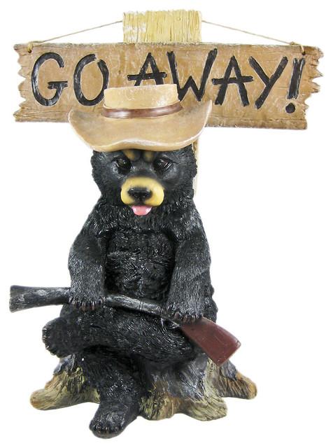 Merveilleux Go Awayu0027 Country Bear Un Welcome Garden Statue