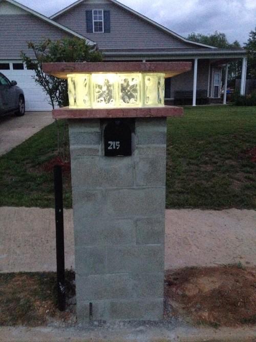 Mailbox Brick Or Custom Tile