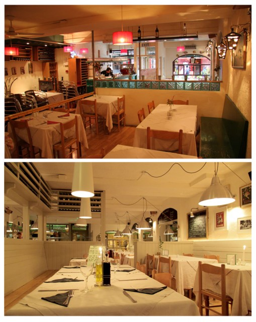 Before And After Italian Restaurant Interior Design Mediterranean
