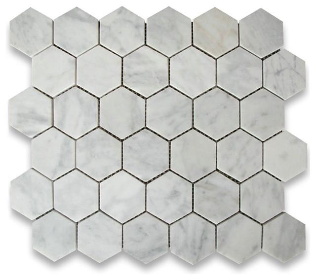 Hexagon Floor Tile rama hexagon 1413 x 1625 porcelain mosaic tile 1075x1281 Carrara White Marble Hexagon Mosaic Tile Honed Italian Carrera Traditional