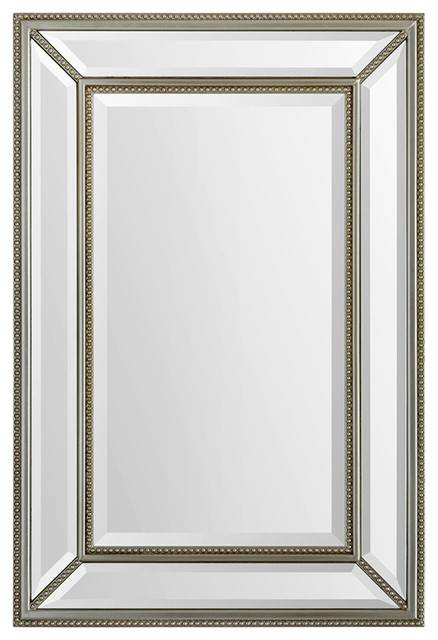 Ren-Wil Mia Mirror Wall Mount Mirror Framed Rectangular Medium.
