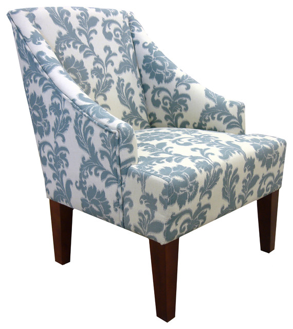 Ikat Chair Transitional Armchairs And Accent Chairs