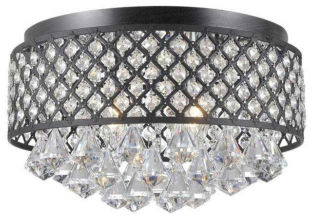 Wellyer Tabit 4-Light Semi Flush Mount.