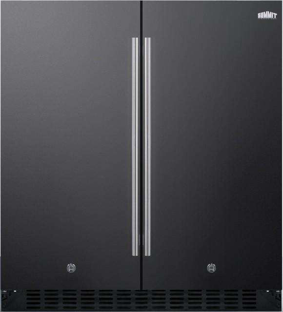 "30"" Freestanding Or Built, Counter Depth Compact Refrigerator."