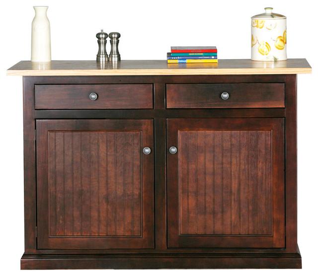 eagle furniture 53 quot coastal kitchen island traditional