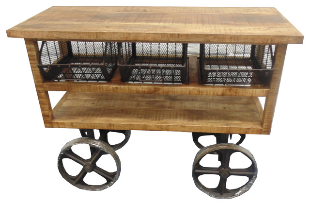 Wheel Trolley Bar Carts