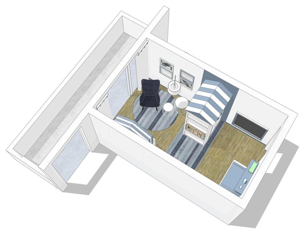 Visualisierung Babyzimmer Bild VIII