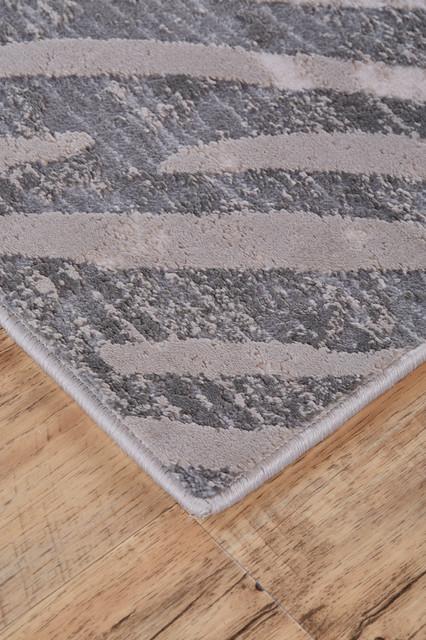 Weave & Wander Vanhorn Rug, Gray, 8'x11'