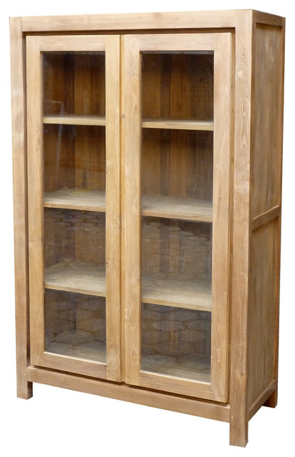 Recycled Teak Solo Cupboard, 2 Door.