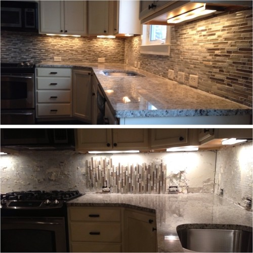Vertical Or Horizontal Backsplash Pictures Gallery