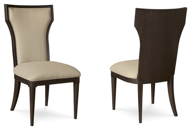 A.R.T. Furniture Greenpoint Coffee Bean Upholstered Back Side Chairs, Set  Of 2   Transitional   Dining Chairs   By HomeClick