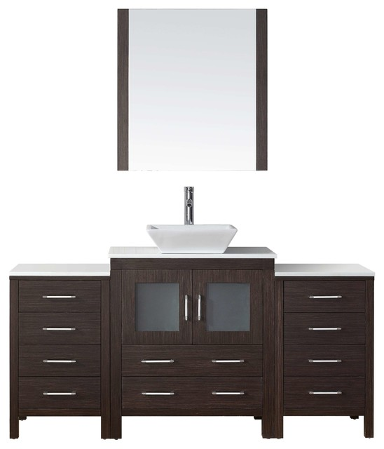 66 bathroom vanity cabinet 66 quot single bathroom vanity cabinet set espresso 10345