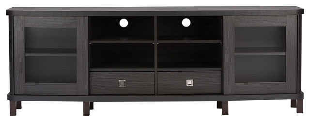 Walda Wood Tv Cabinet Transitional Entertainment Centers And Tv