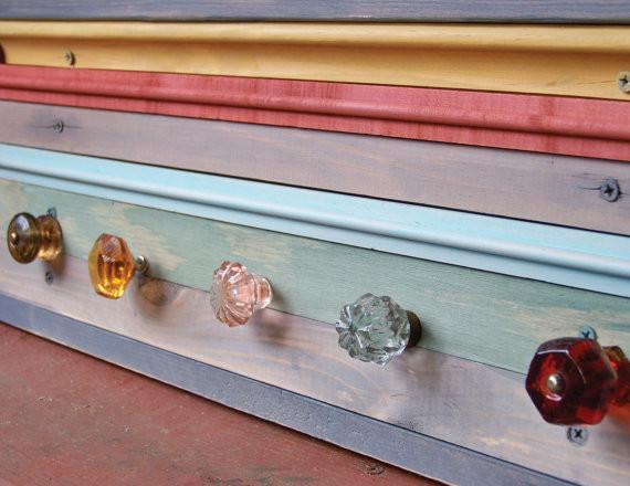 Reclaimed Wood Coat Rack by Rustic Wood Originals