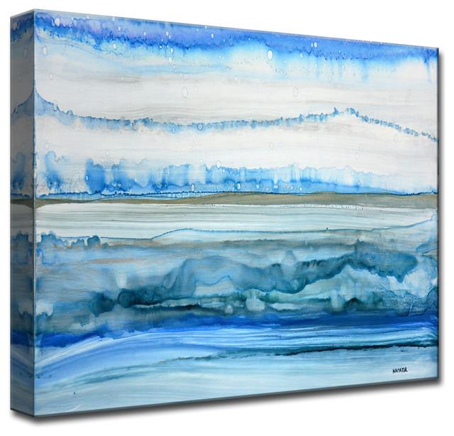 "Ready2Hangart 'Frigid Morning' By Norman Wyatt, Jr. Canvas Art, 16"" Hx20"""