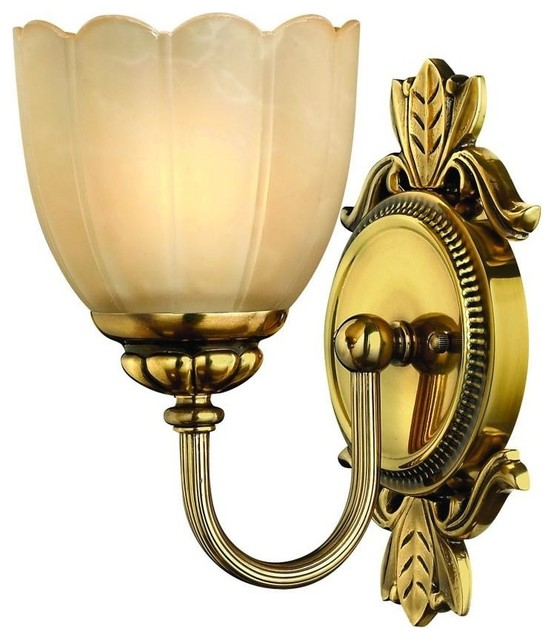 Hinkley Lighting Hinkley Lighting Isabella Traditional Wall Sconce, Burnished Brass - Wall ...