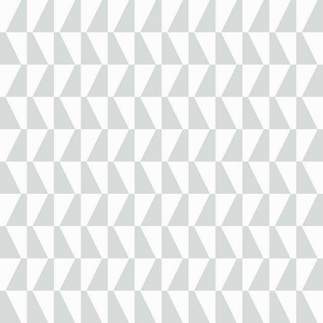 Trapez Sage Geometric Wallpaper, Bolt.