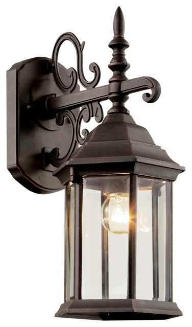 Trans Globe 4354 Rt Alicante Rust Outdoor Wall Sconce.