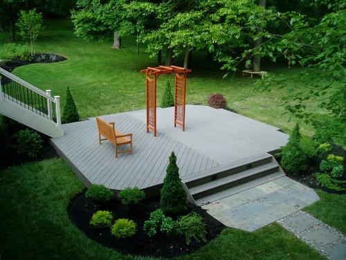 Simple Painted Deck