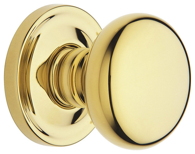 Baldwin Hardware - Baldwin Estate 5015 Classic Door Knob Set - Full Dummy & Reviews | Houzz