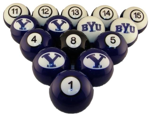 BYU Cougars Billiards Pool Balls Set