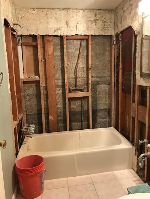 Help me design a modern farmhouse bath for Help me decorate my bathroom