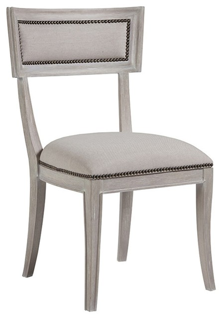 Artistica Home Apertif Side Chairs, Set of 2, Bianco