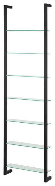 Cubic Dvd Rack With 7 Shelves, Black.