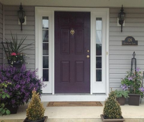 Front Door Colors For Gray House Color