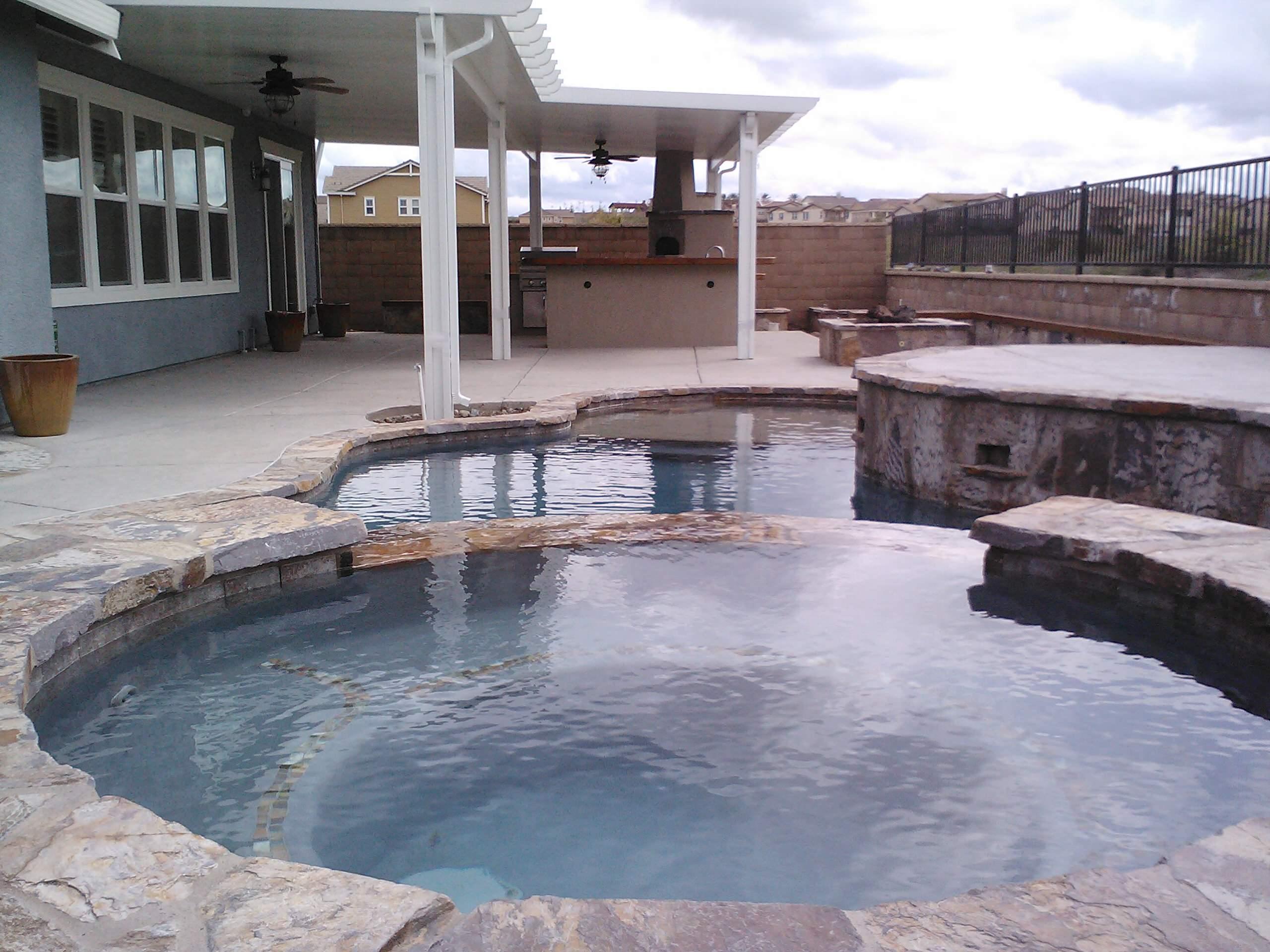 Complete backyard design and build. Rocklin, CA