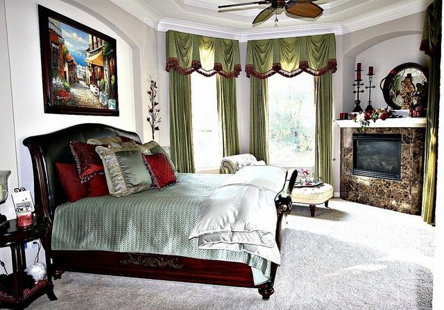 Redesign mediterranean bedroom houston by flygirl for Redesign bedroom