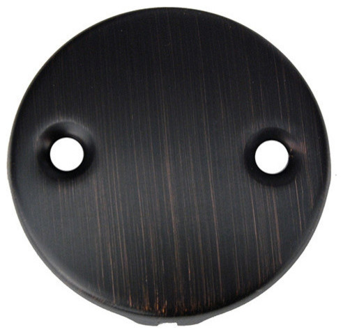 premier copper products d 352orb two hole overflow cover face plate in oil. Black Bedroom Furniture Sets. Home Design Ideas