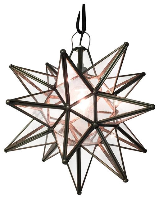 moravian star light mediterranean pendant lighting by quintana roo. Black Bedroom Furniture Sets. Home Design Ideas
