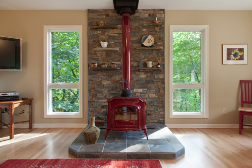 - Is It Possible To Use A Wood Floor If The Stove Has A Heat Shield?