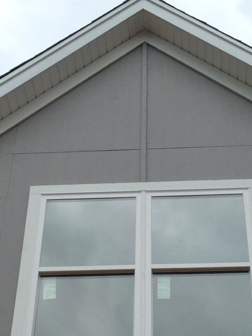 Cement Siding Question