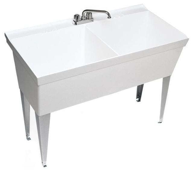 Swan Swan Utility Sink 45 38 Quot X23 38 Quot X33 63 Quot View In