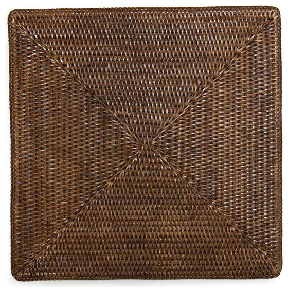 Square Rattan Placemat 15quot Set4 Tropical Placemats  : tropical placemats from www.houzz.com size 560 x 568 jpeg 210kB