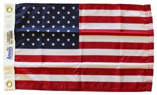 """USA, 12""""x18"""" Nylon Flag, dyed"""